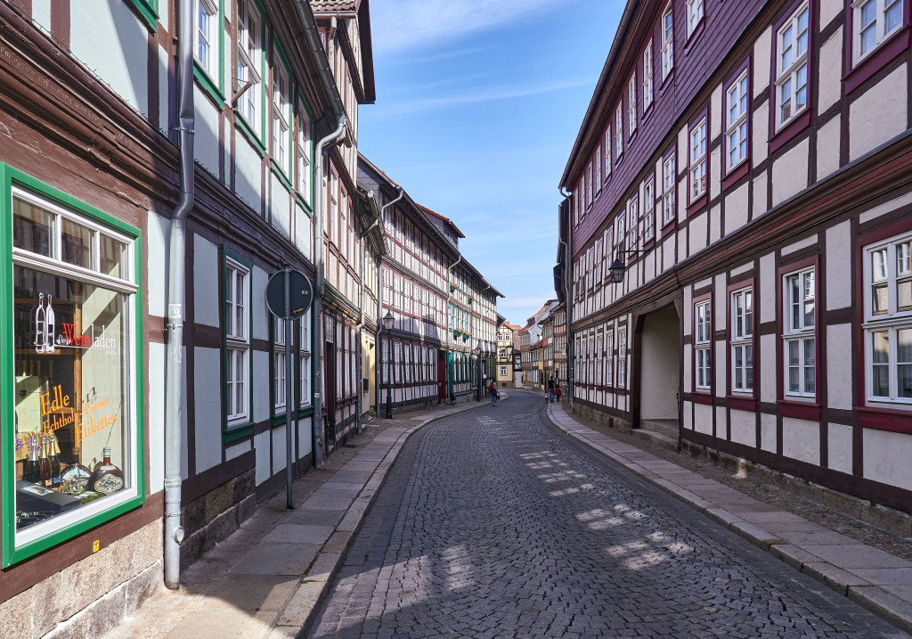 Itinerary in Germany's Harz Mountains; Wernigerode