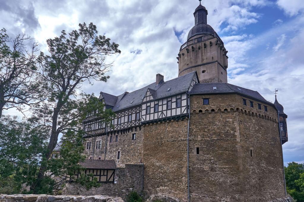 Falkenstein Castle in Harz Mountains, Germany