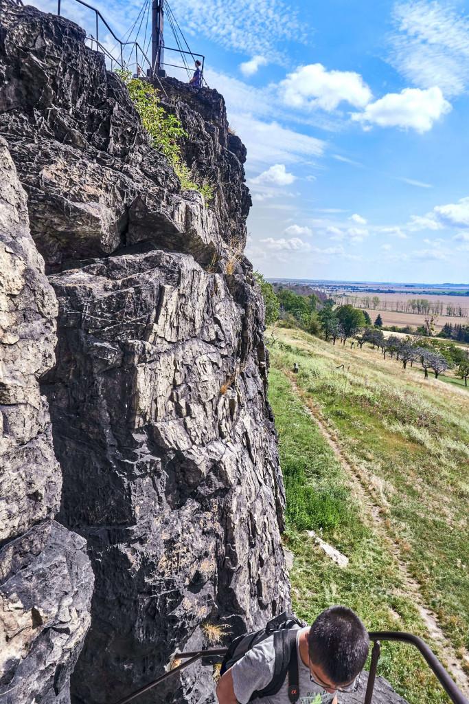 """Gegensteine (""""Counter Stones"""") near Ballenstedt; Devil's Wall in the Harz Mountains"""