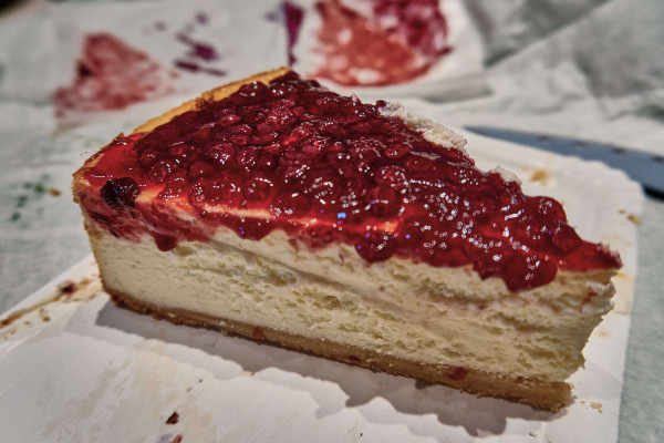 Cheese Cake from Café Vincent