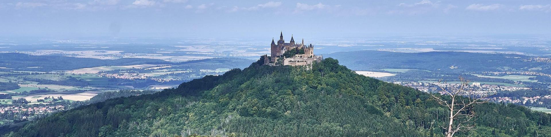 Hohenzollern Castle (Burg Hohenzollern); vacation i nthe Swabian Alb